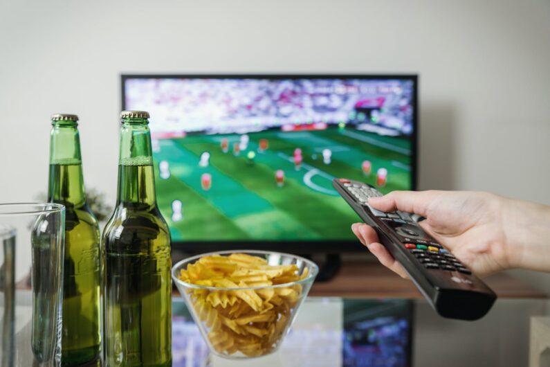 Fußball gucken am Arbeitsplatz