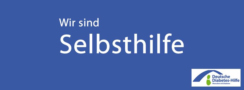 Banner DDH-M: Wir sind Selbsthilfe!