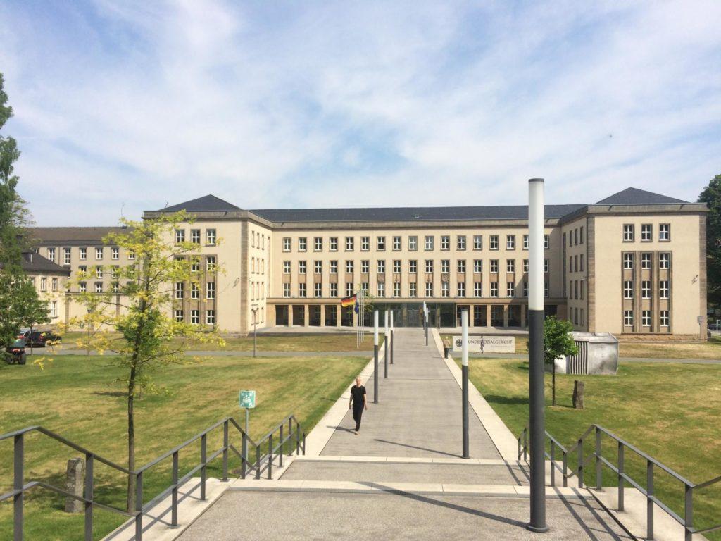 Außenansicht des Bundessozialgerichts in Kassel.